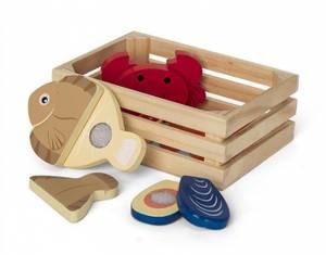 Bilde av MamaMemo, kasse med sjømat