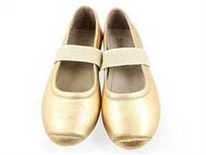 Bilde av Bisgaard, ballerinasko gold