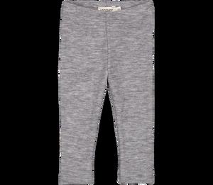 Bilde av MarMar wool rib leggings grey